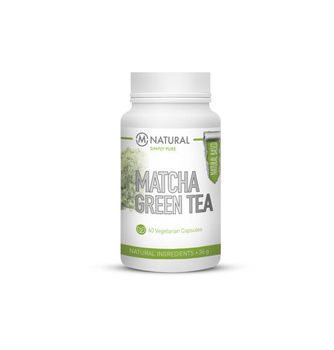 M-NATURAL Matcha Green Tea 500mg 60 kaps.