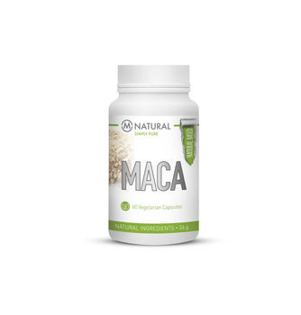 M-NATURAL Maca 600mg 60 kaps.