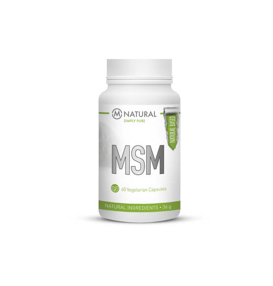M-NATURAL MSM 750 mg 60 kaps.